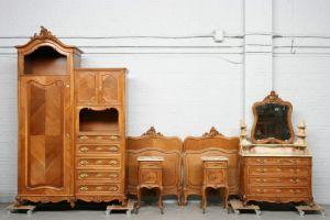 Спальный гарнитур, стиль  Людовика XV