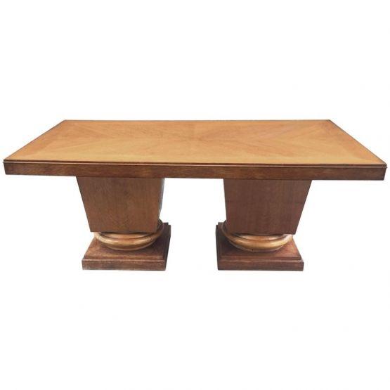 Стол из дуба в стиле Ар-Деко. Jacques Klein, 1939