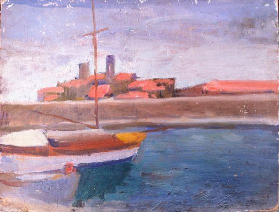 'Рыбацкий баркас'. Albert Marquet, XX в.