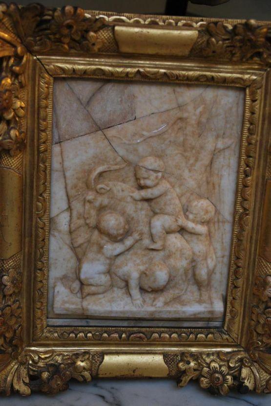 Алебастровая гравюра, XVIII в.
