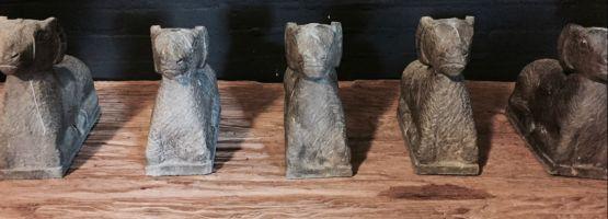 Декоративные статуи из камня
