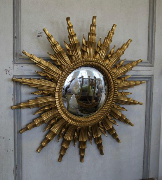 Выпуклое зеркало в форме солнца