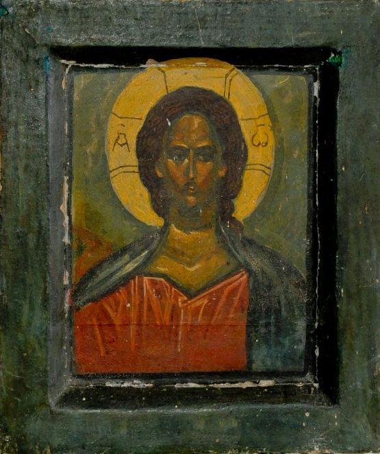Икона Иисуса Христа. Александр Бондиков, ХХ в.