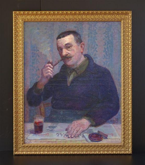 Портрет мужчины. Madeleine Legrand, 1927 г.