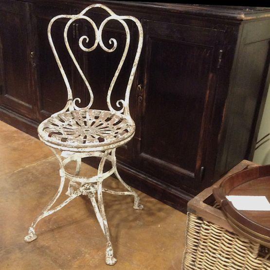 Садовый стул. Франция, 1850 г