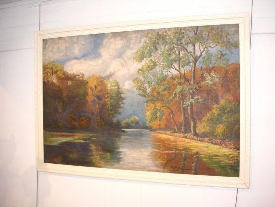 Пейзаж. Geo Sombri, 1925 г.