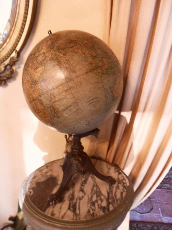 Глобус. Г. Тома, XIX в.