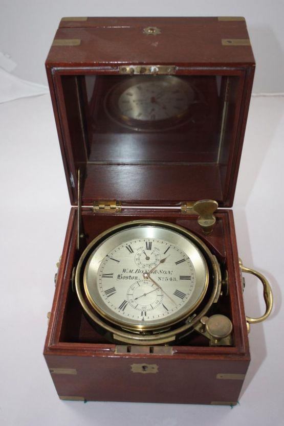 Морской хронометр. США, XIX в.