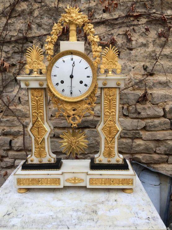 Часы-портик эпохи Людовика XVI, XVIII в.