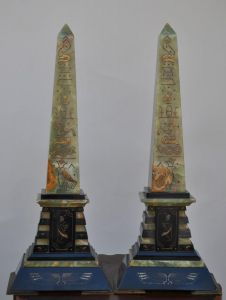 Пара обелисков из оникса, XIX в.