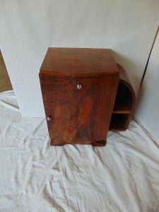 Небольшая тумба из ореха в стиле Ар-Деко, XIX в.