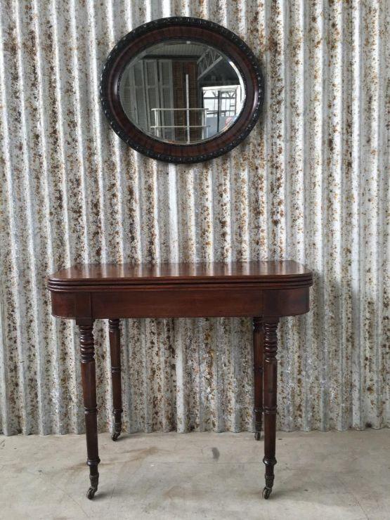 Старинный карточный стол