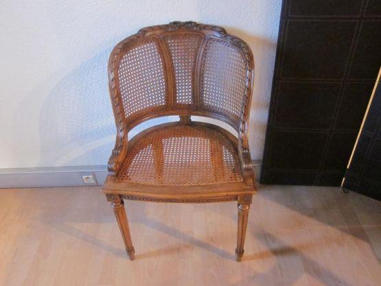 Кресло из венской соломки, ХХ в.
