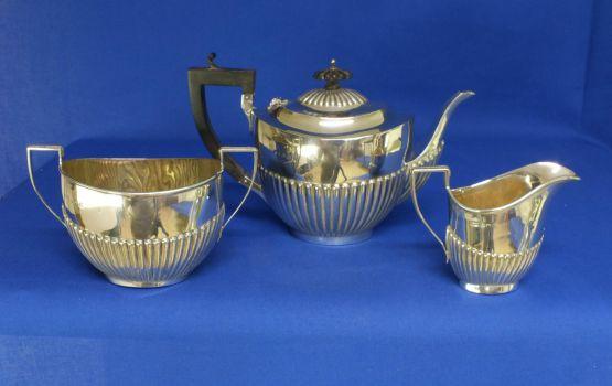 Серебряный чайный сервиз, 1936 г.