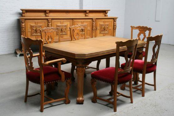 Гарнитур для столовой, стиль ЛюдовикаXV