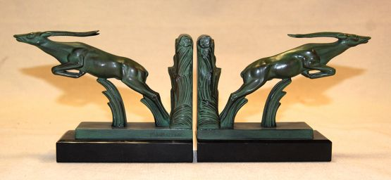 Два держателя для книг 'Газели', Max Leverrier