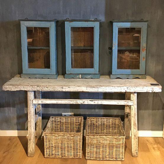 Старинный стол из сосны