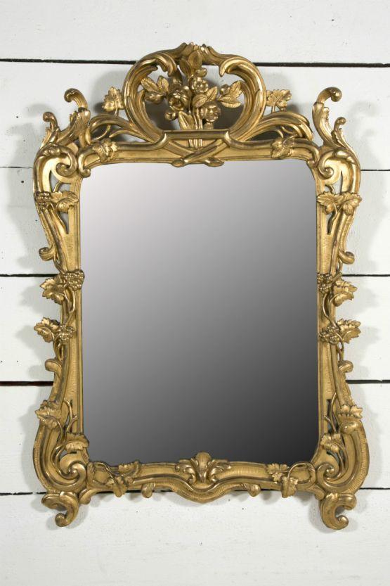 Зеркало, Франция,  XVIII век