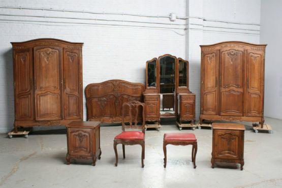 Спальня, стиль Людовика XV