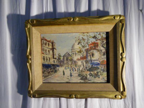 Картина 'На площади'