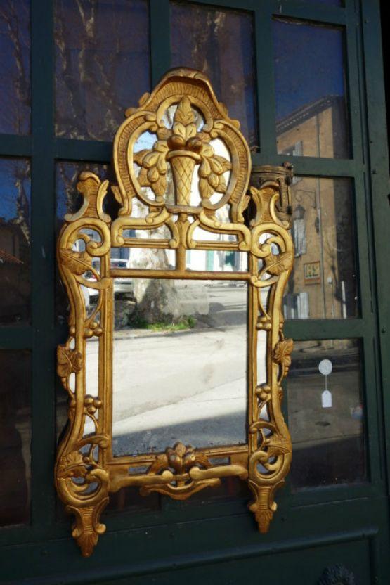 Зеркало в стиле эпохи Людовика XV, Франция