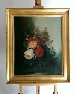 Натюрморт с цветами, XIX в.