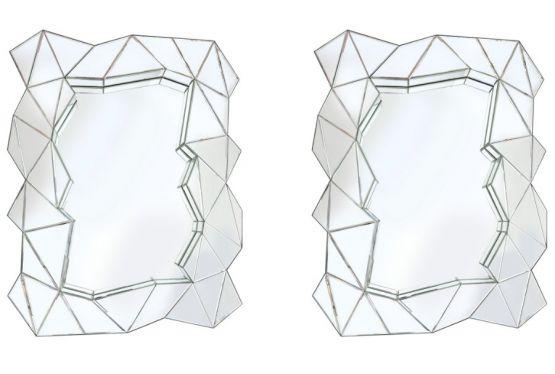 Два зеркала необычной формы