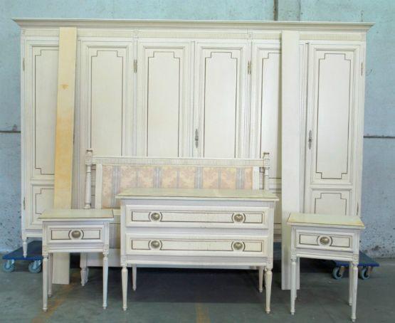 Спальня в стиле Людовика XVI