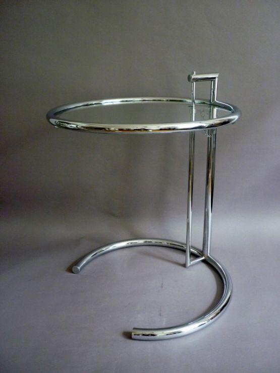 Стол в стиле Ар-Деко. Eileen Gray, 1930 г.
