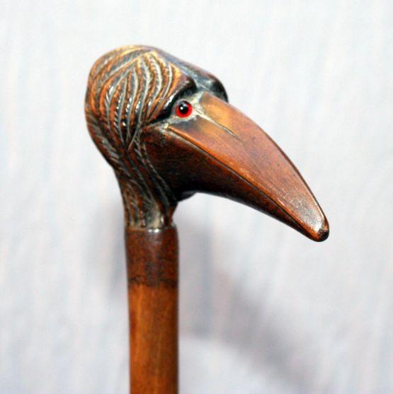 Трость для ходьбы 'Птица'. Франция, конец XIX в.
