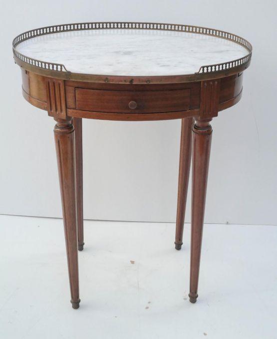 Круглый столик в стиле Людовика XVI, XIX в.