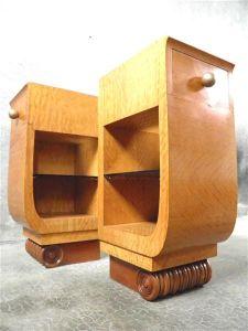 Тумбочки в стиле Ар-Деко. Франция, 1930 г.