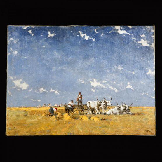 'Сбор урожая'. Jozsef Csillag (1894-1977)