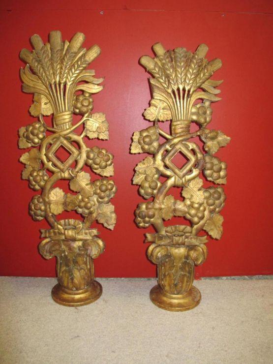 Два декоративных элемента, XVIII в.