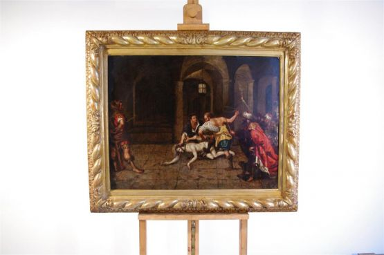'Бичевание Христа'. Marteen De Vos, XVI в.