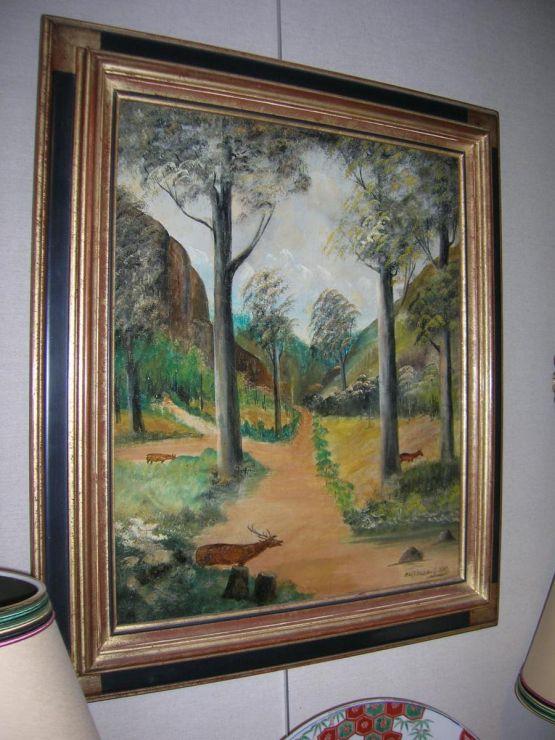 Охотничий пейзаж. Martinez, 1937 г.