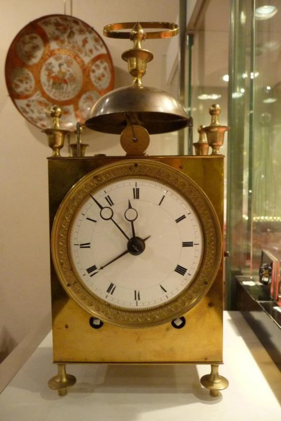 Часы 'Настурция' эпохи Реставрации, начало XIX в.