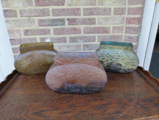 Набор из трех ваз-жардиньерок