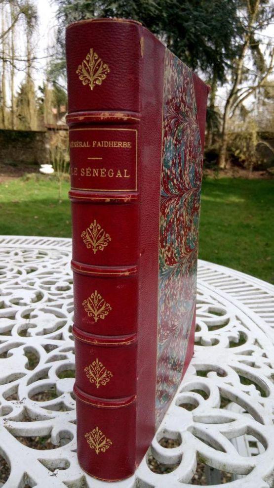 Книга 'Сенегал'. Фадхерб, XIX в.
