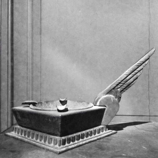Железная пепельница. Edgar Brandt, ХХ в.