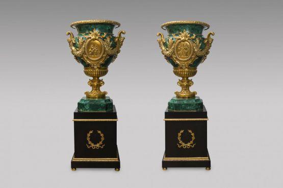 Две вазы в стиле Людовика XVI, XX в.