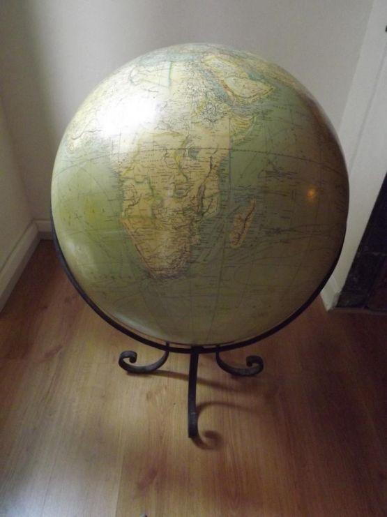 Глобус, G. Thomas, начало XX в.