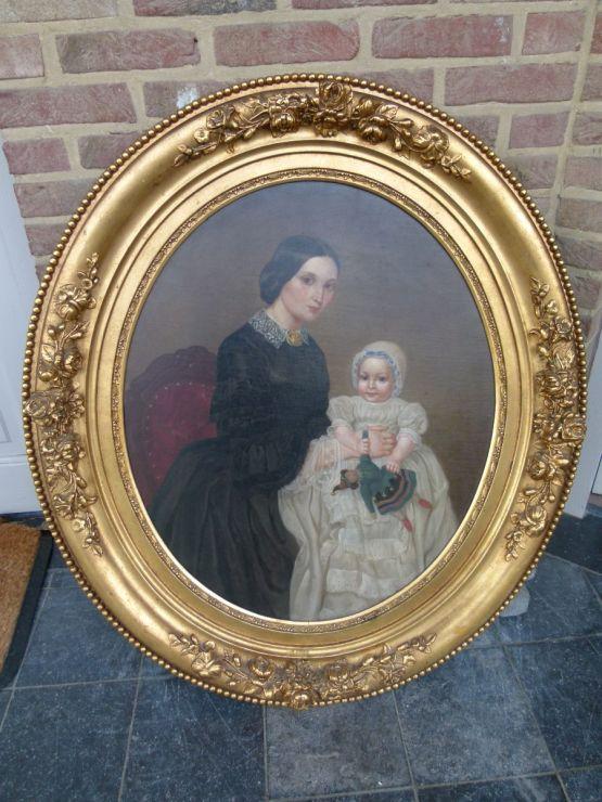 'Женщина с ребенком', 1862 г.