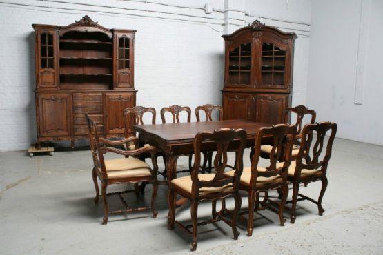 Французский гарнитур для столовой в льежском стиле