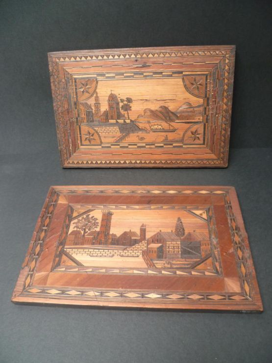 Две декоративные панели, начало XIX в.