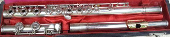 Серебряная флейта Louis Lot # 3458, ХХ в.