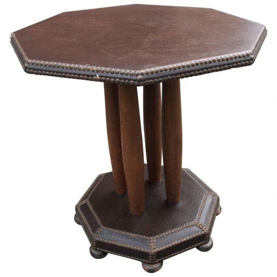 Восьмиугольный стол в стиле Ар-Деко, 1930 г.