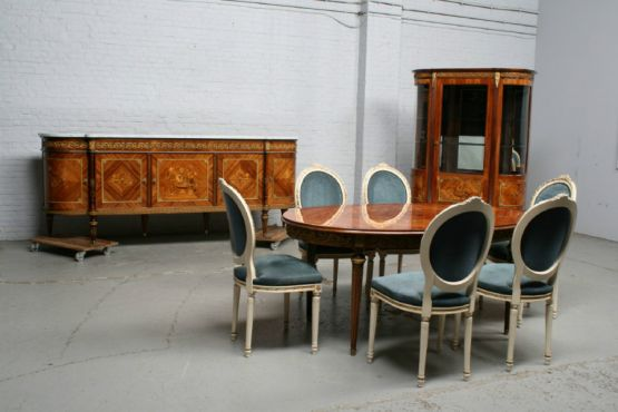 Гарнитур для столовой, стиль ЛюдовикаXVI