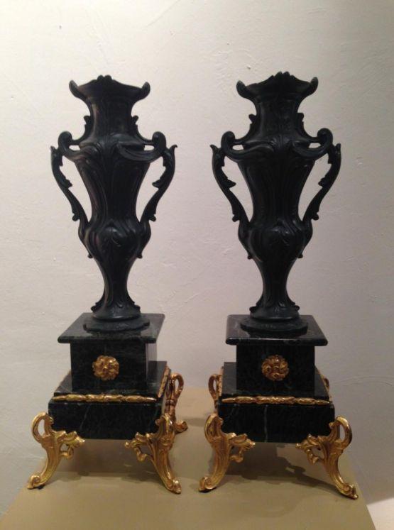 Две вазы эпохи Наполеона III,  XIX в.