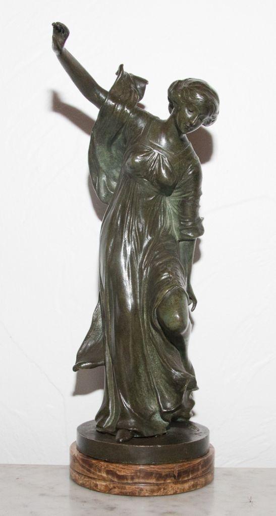 'Танцовщица '. Henri Levasseur,  около 1920 г.